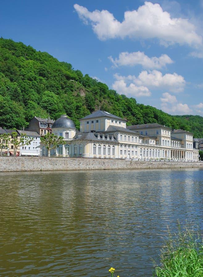 Passeggiata dello Cattivo-SME, fiume di Lahn, Germania immagine stock