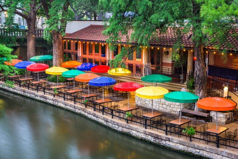 Passeggiata San Antonio del fiume fotografia stock