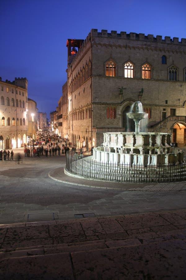 Passegiata di Perugia immagini stock