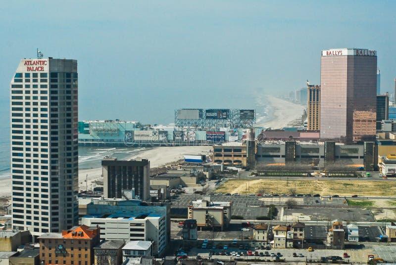 Passeio à beira mar Atlantic City, New-jersey fotografia de stock royalty free