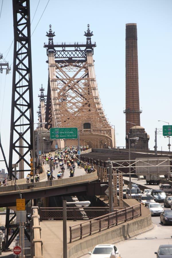Passeio da bicicleta de New York foto de stock royalty free