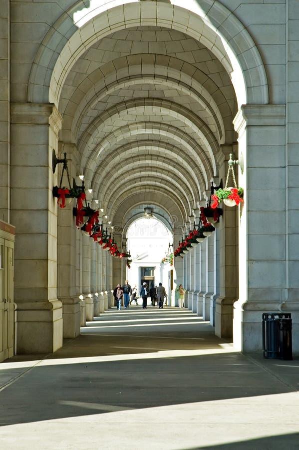 Passeio da estação da união - Washington DC fotos de stock