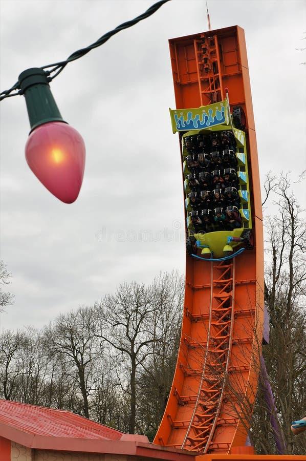 Passeio da história do brinquedo, Disneyland Paris imagem de stock royalty free