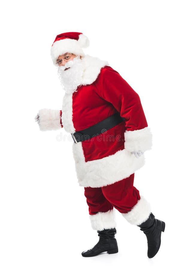 Passeio de Papai Noel fotos de stock