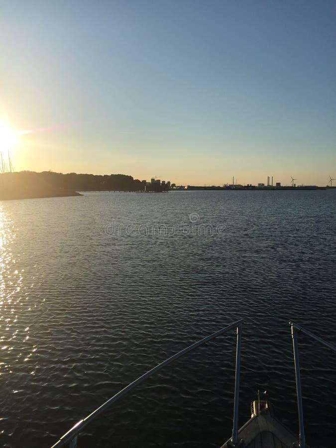 Passeio do barco imagens de stock
