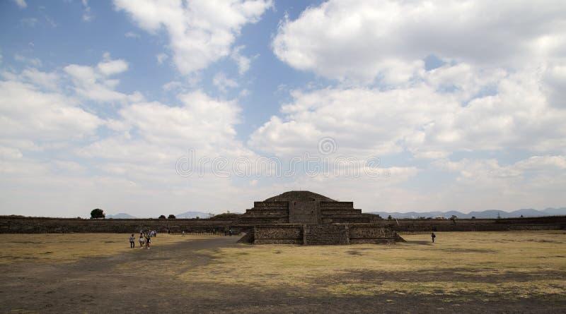 Passeio em torno de Teotihuacan imagens de stock royalty free