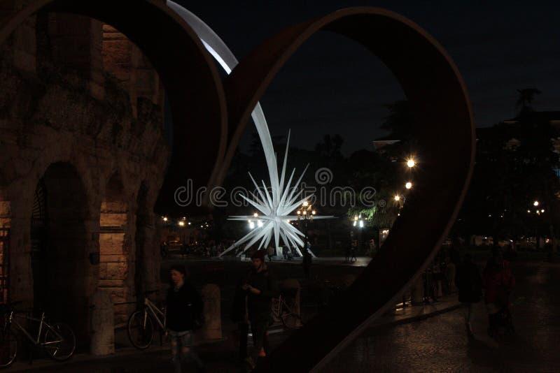 Passeio em Verona fotografia de stock