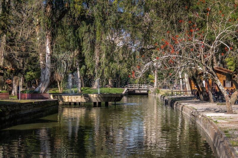 Passeio Publico park - Curitiba, Parana, Brazylia obraz royalty free