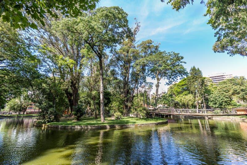 Passeio Publico park Curitiba, Parana stan - Brazylia fotografia royalty free