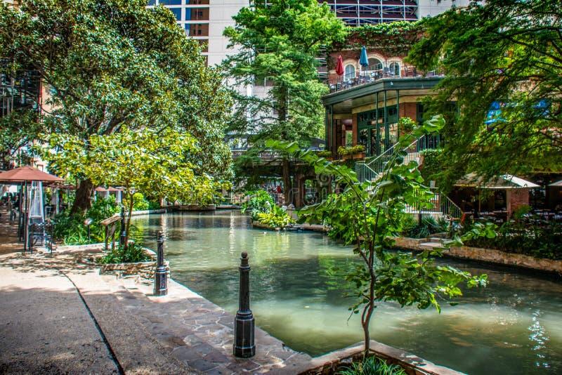 Passeio San Antonio de Riverwalk fotos de stock royalty free