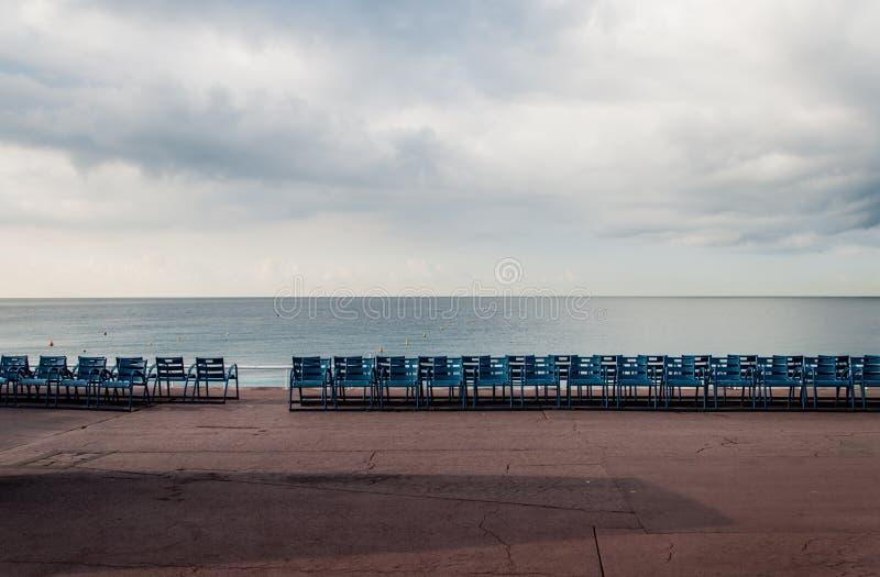 Passeio vazio do mar foto de stock royalty free