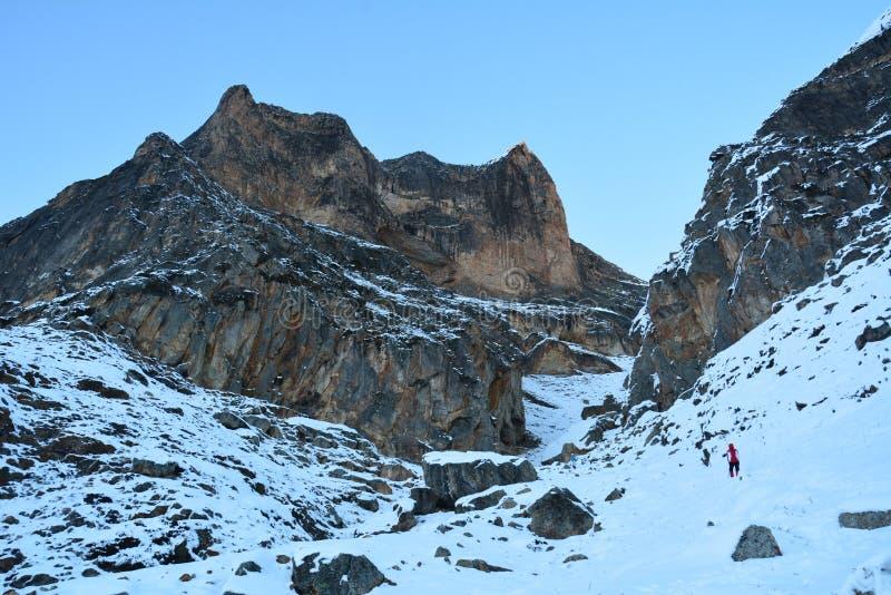 Passeios na montanha das montanhas foto de stock royalty free