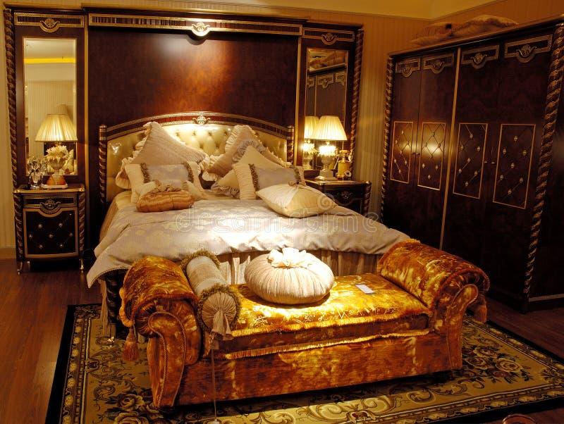 Passend antiek meubilair royalty-vrije stock afbeeldingen