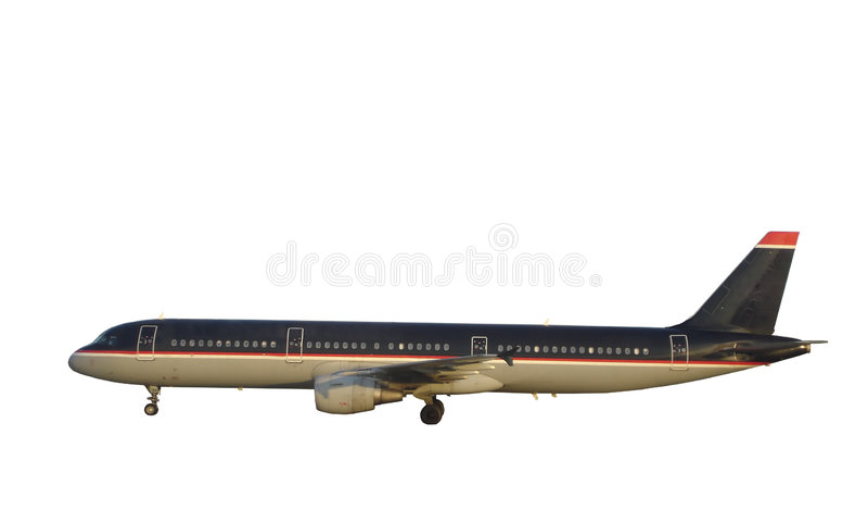 Passenger Airplane stock photography