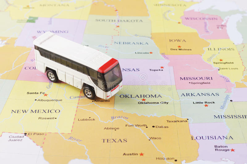 Passenger bus map stock image Image of checking journey 83481935