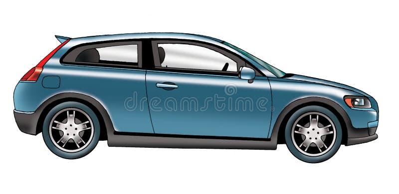 passenger car royalty free stock image
