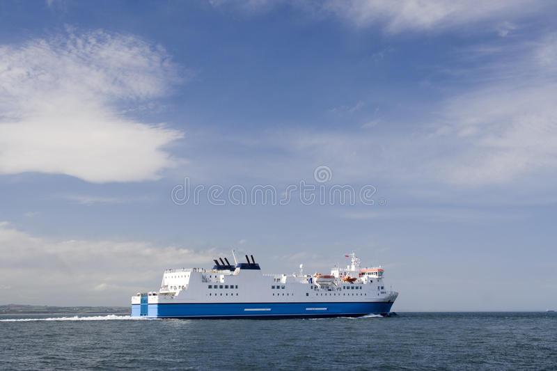 Download Passenger ferry stock image. Image of sunny, ferry, ship - 12578693