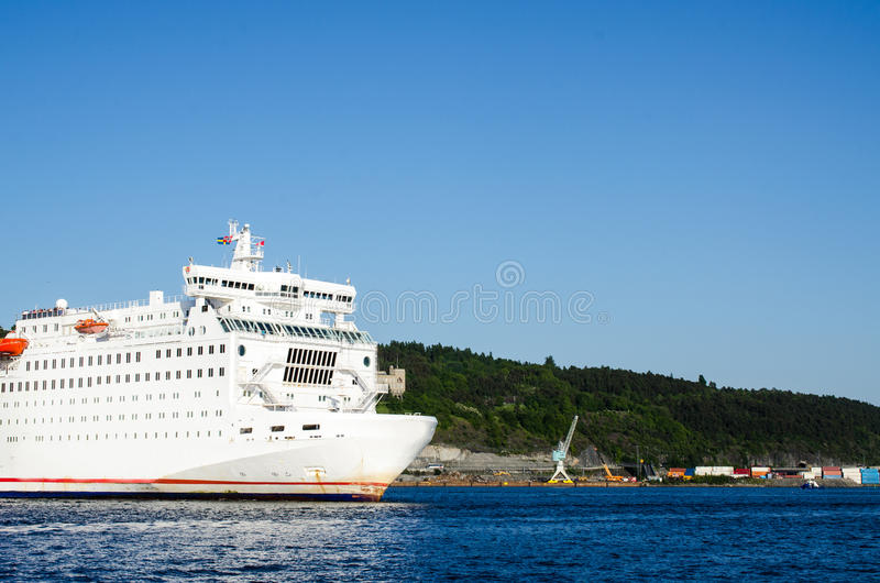 Download Passenger Ferry Leaving Oslo Stock Photo - Image: 25045984