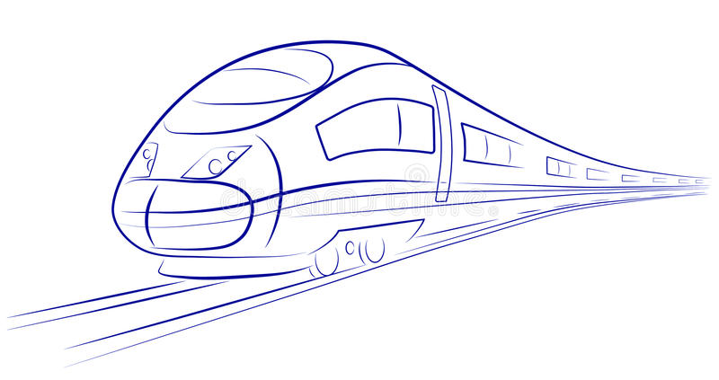 Download Passenger High-speed Train Stock Images - Image: 27246774