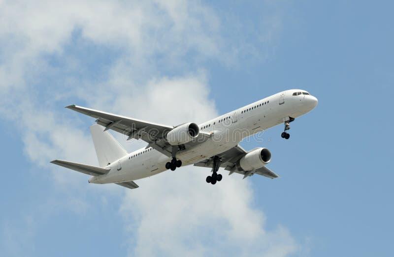 Passenger jet stock photos