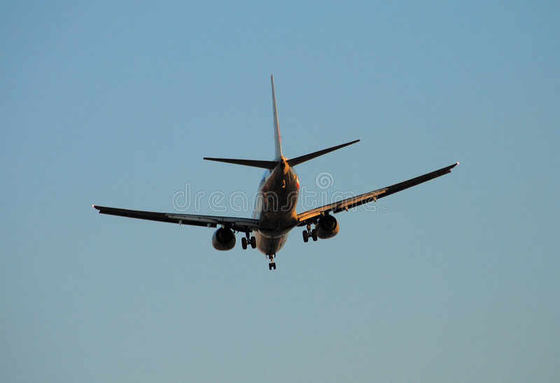 Download Passenger Jet Rear View Stock Photos - Image: 2409743
