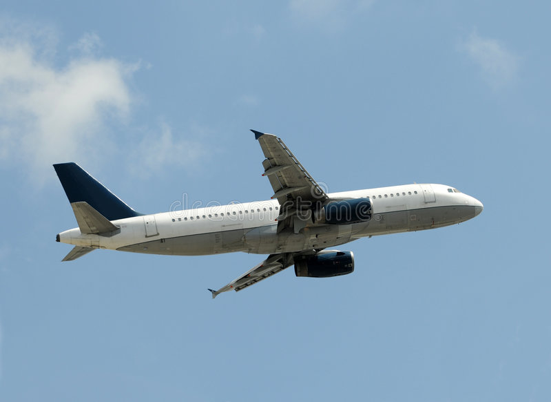 Download Passenger Jet Taking Off Royalty Free Stock Photos - Image: 5717048