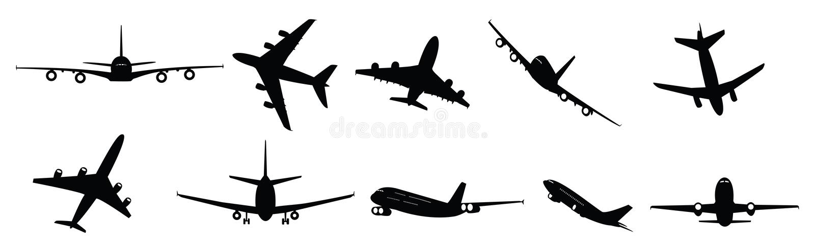 Download Passenger Jets Royalty Free Stock Photos - Image: 18528798