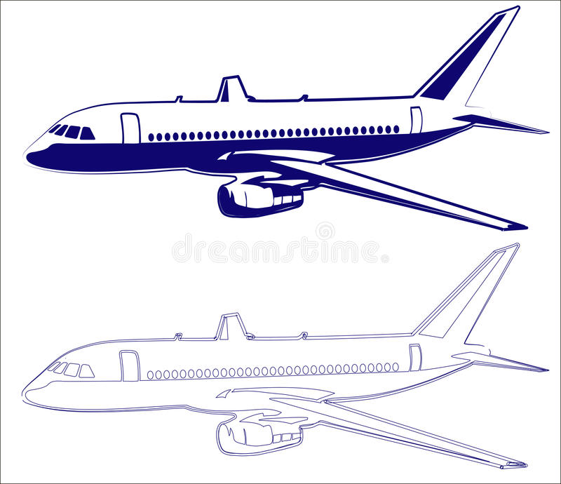 Download Passenger Plane Stock Photo - Image: 24517700