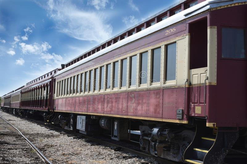 Rail Car Ready to go! royalty free stock images