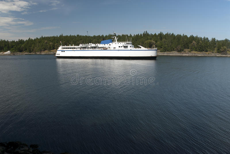 Download Passenger Ship On The Sea By Island Royalty Free Stock Image - Image: 22940456