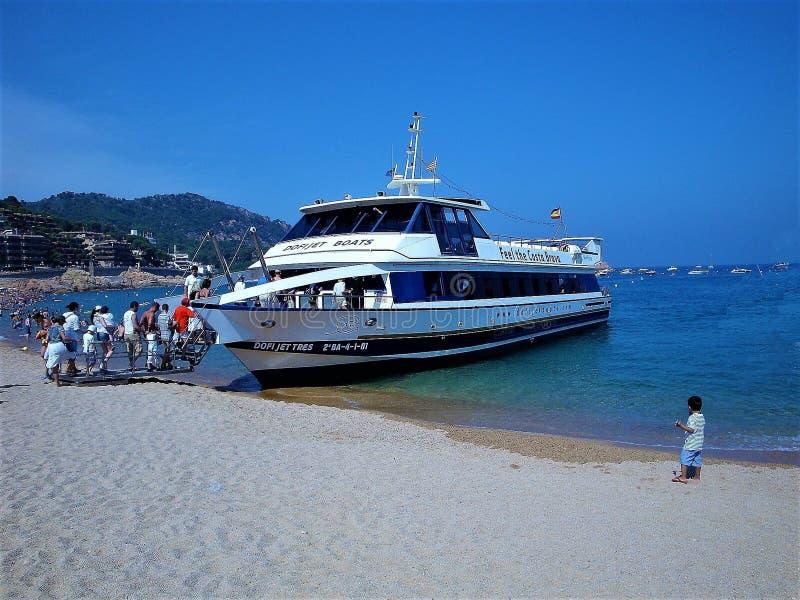 Passenger Ship, Water Transportation, Motor Ship, Boat stock photo