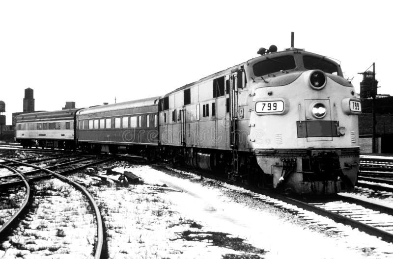 Download Passenger Train stock photo. Image of retro, passenger - 7966608