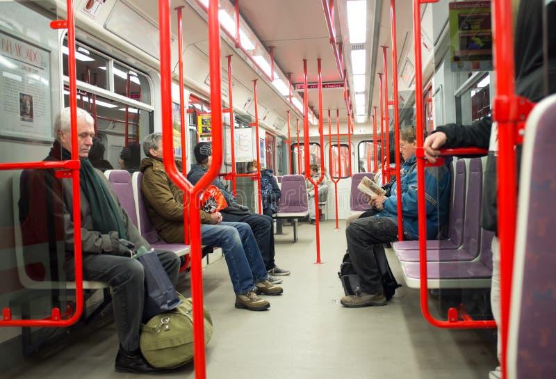 Prague Metro. Czech Republic Editorial Photo