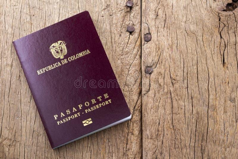 Passeport étranger photographie stock libre de droits
