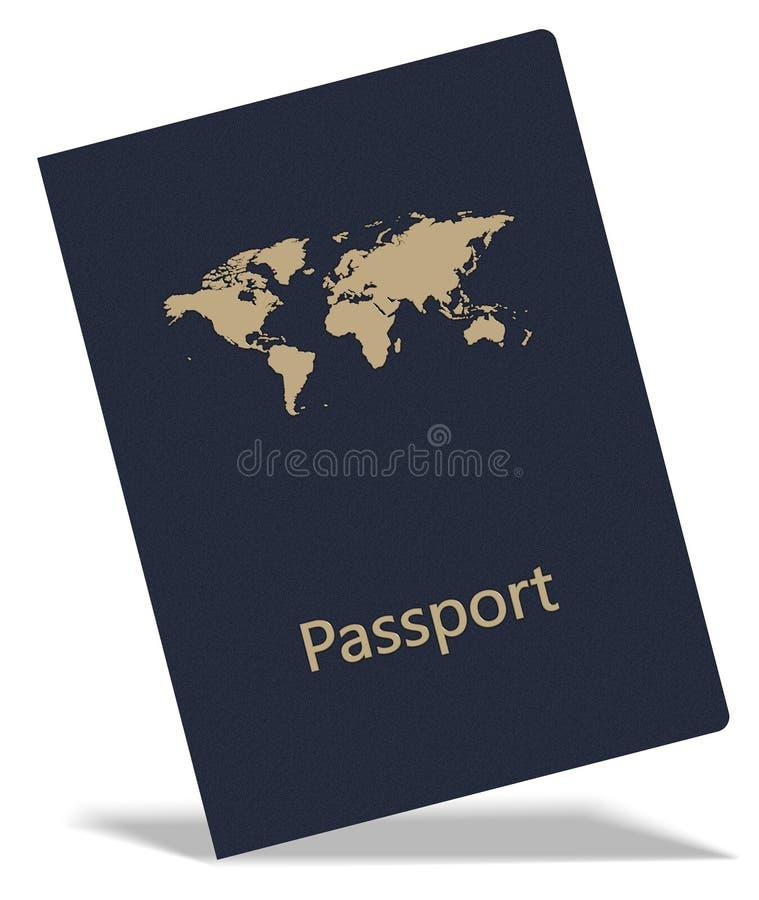 Passeport illustration libre de droits