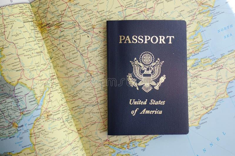 Download Passeport photo stock. Image du nation, permissible, distance - 743850