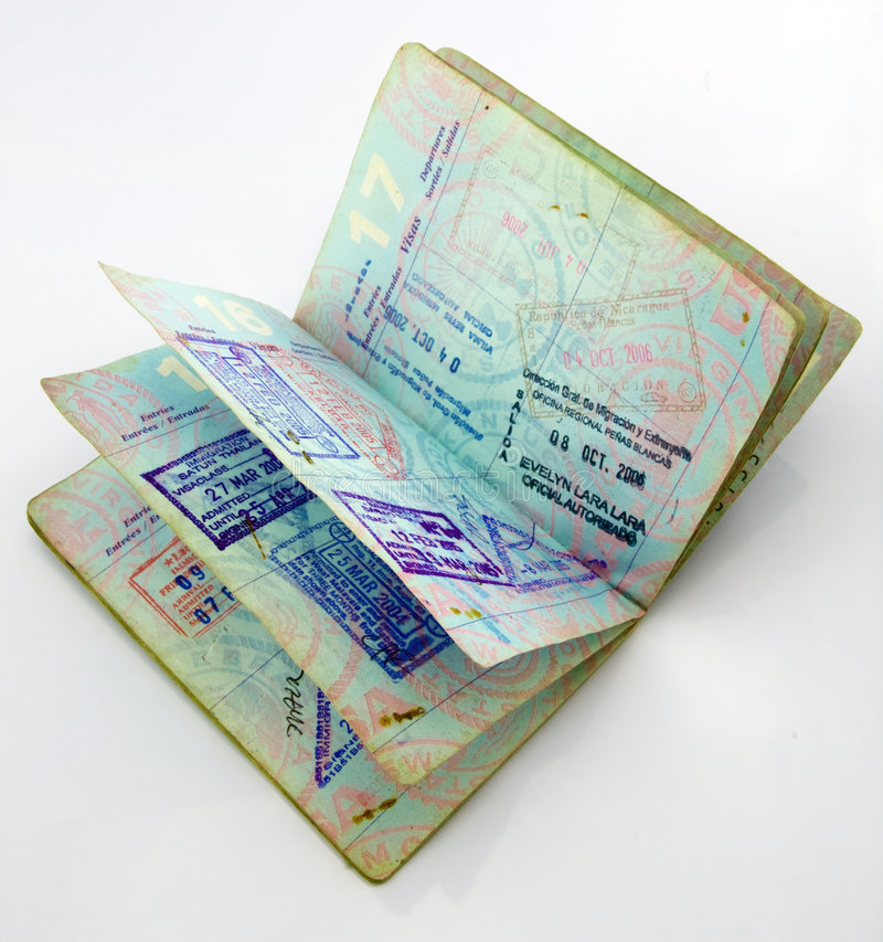 passeport images stock