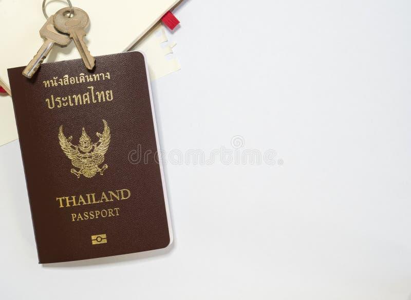 Passeport avec l'espace image libre de droits