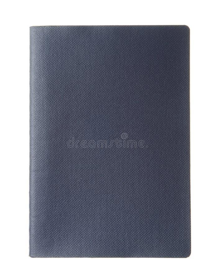 Passeport bleu vide photographie stock