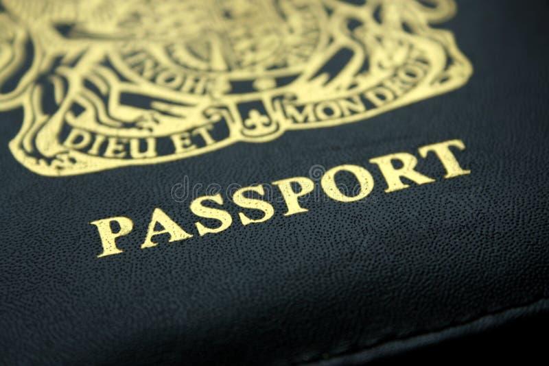 Passeport britannique image stock