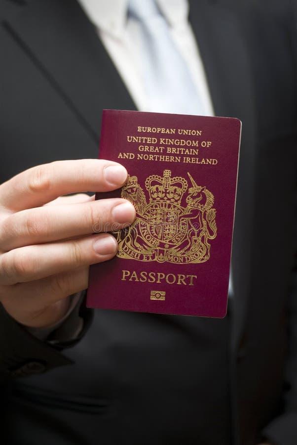 Passeport britannique photos stock