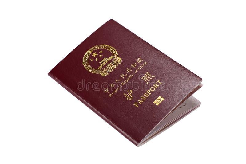 Passeport de la Chine photos stock