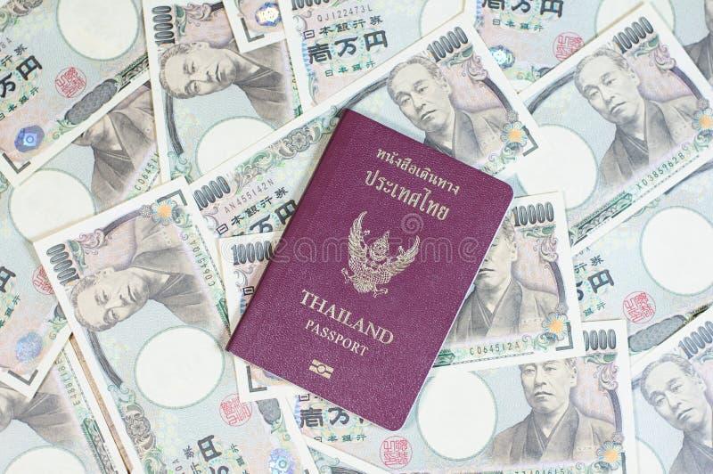 Passeport de la Thaïlande photo libre de droits
