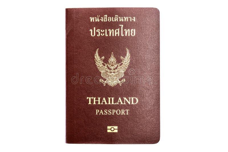 Passeport de la Thaïlande photographie stock