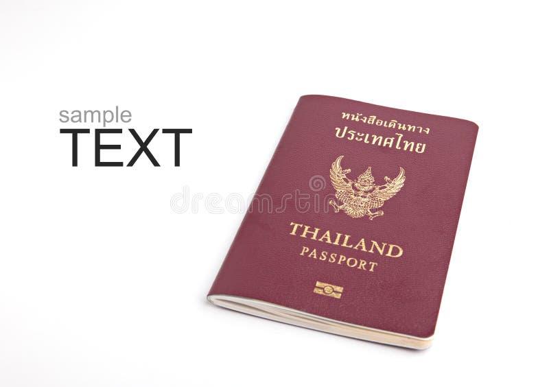Passeport de la Tha?lande image libre de droits