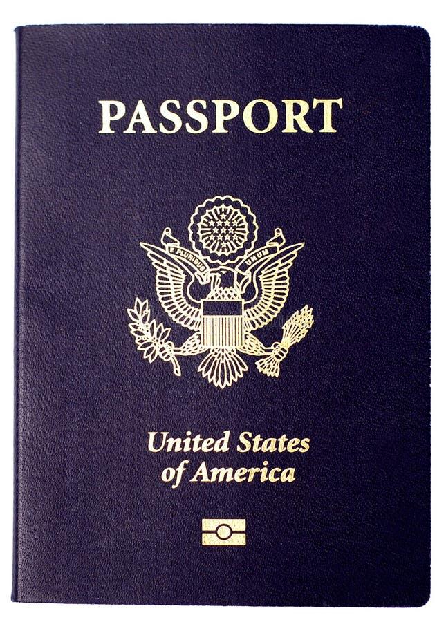 Passeport des USA image libre de droits