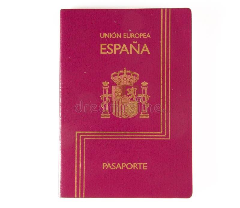 Passeport espagnol image stock
