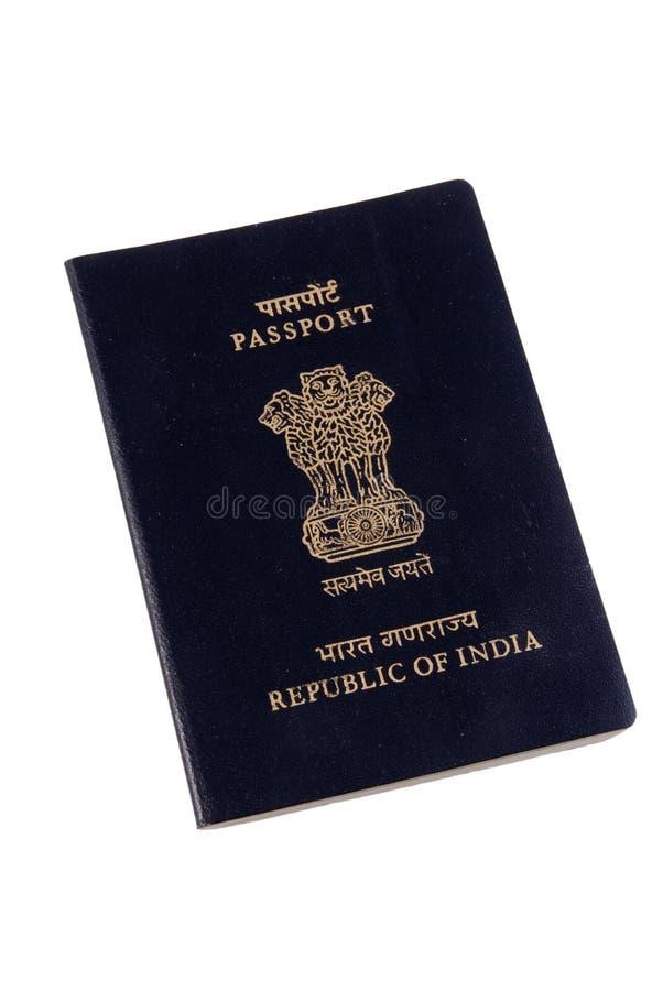 passeport indien image stock