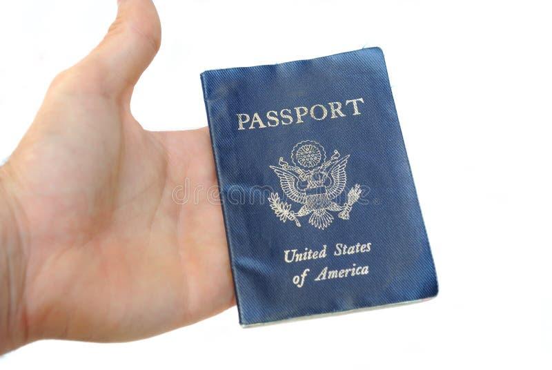 Passeport Inhand image stock