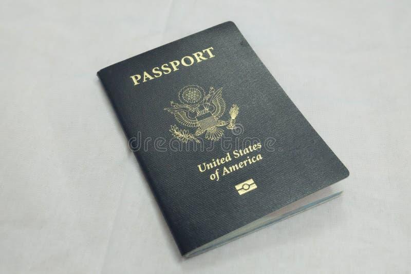 Passeport international officiel de douane des USA photographie stock